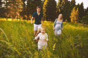 фотосессия на природе семья